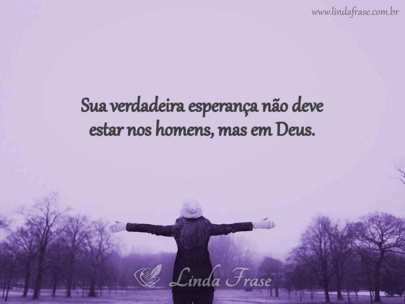 Nunca Deixe De Confiar Em Deus